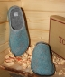 Preview: Tofee Ladies Slipper turquoisr glamour