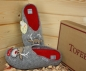 Preview: Tofee Ladies Slipper grey  Deer