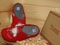 "Mobile Preview: Tofee Ladies Slipper Red ""Schafe Locken"""