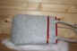 Preview: felt Bag grey with stripes