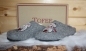 Preview: Tofee ladies slipper owl with scarf grey