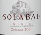 Preview: Bodegas Y Vinedos Solabal Crianza 2004