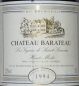 Preview: Chateau Barateau, Haut Medoc 1994
