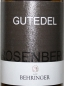 Preview: Weingut Behringer Rosenberg Gutedel 2017, 375ml