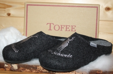 Tofee Man Slipper  Alter Schwede