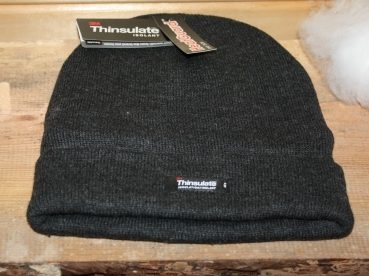 Heatguard Wintermütze Strickmütze  Thinsulate 40g grau