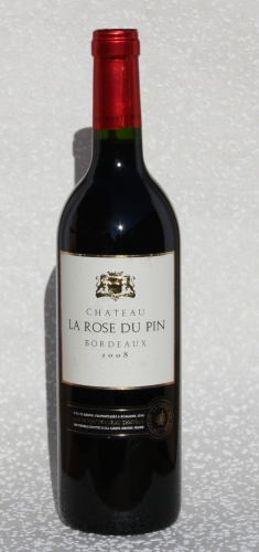 Chateau La Rose du Pin, Bordeaux 2008