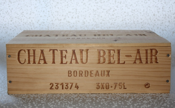 Chateau Bel Air Bordeaux Holzkiste 3er, 2000