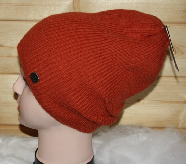 Barts Wintermütze Strickmütze Beanie orange