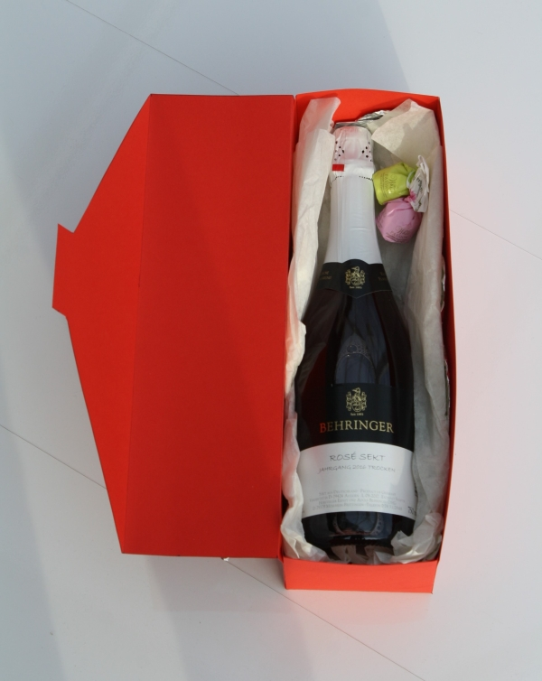 sparkling wine coffer Exclusiv Rose